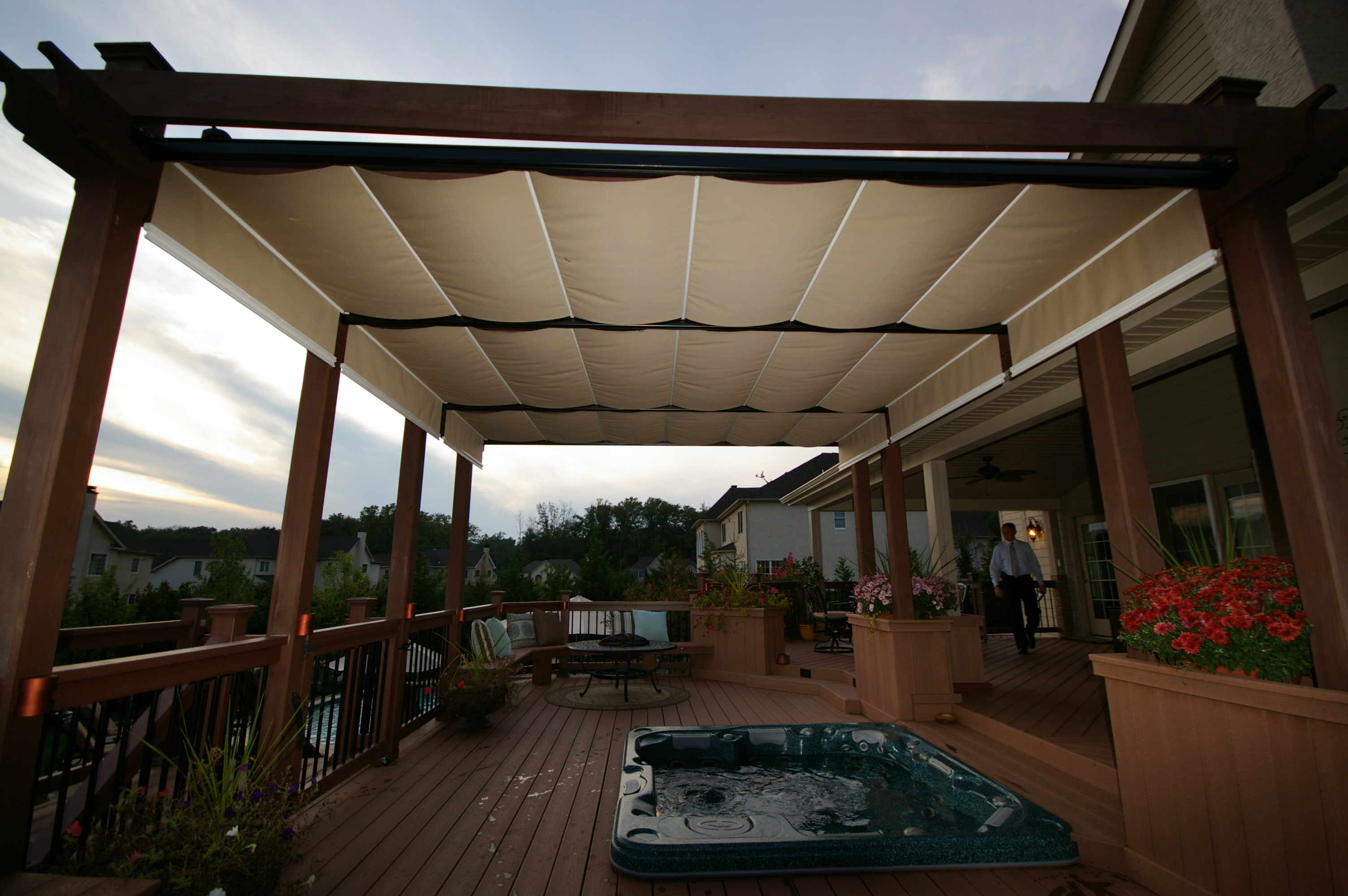 terrace structures ontario and awnings tent system top barrie products services pergolas awning pergola