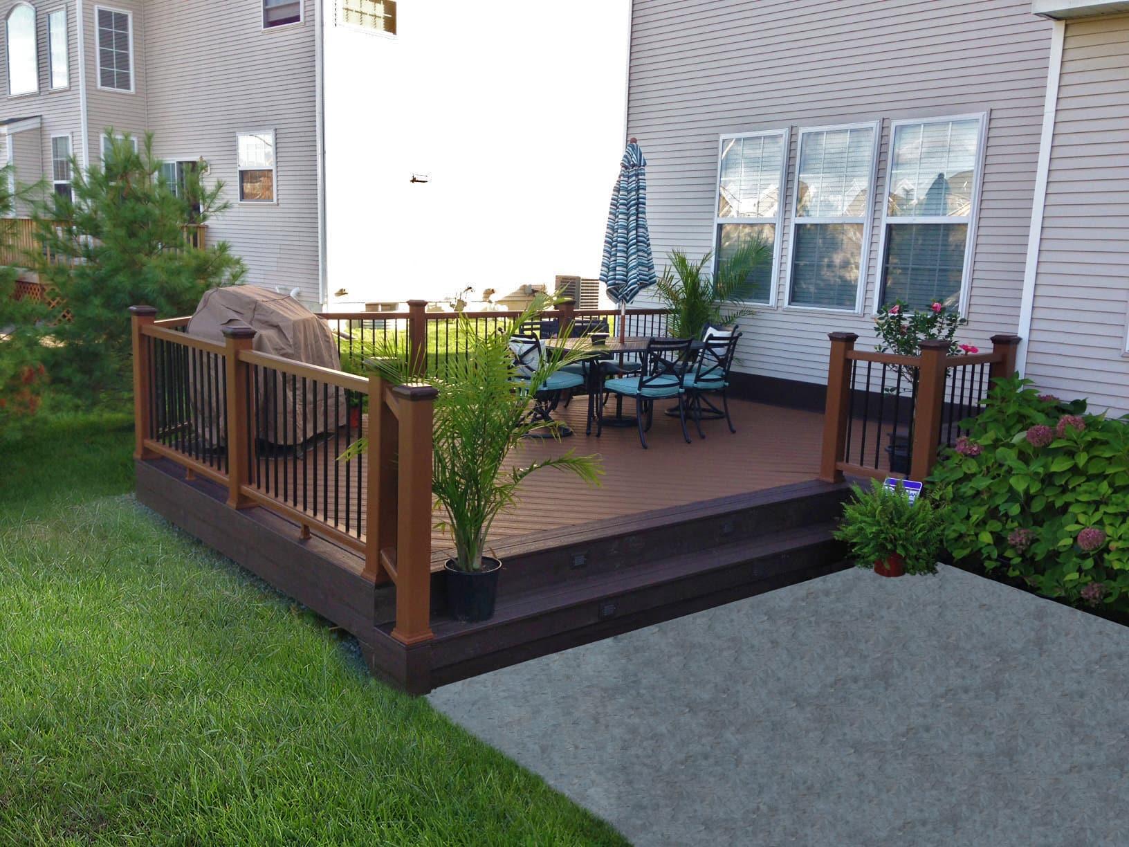 signature concrete design outdoor landscape structures